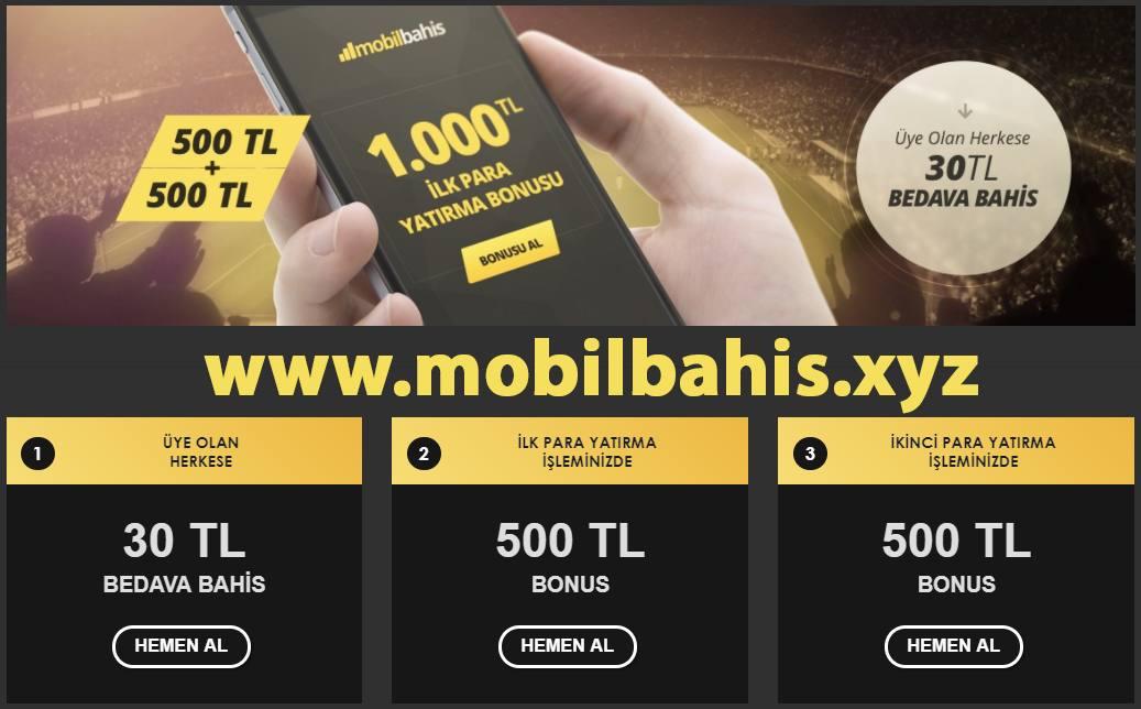 Mobil Bahis 1 Bonus