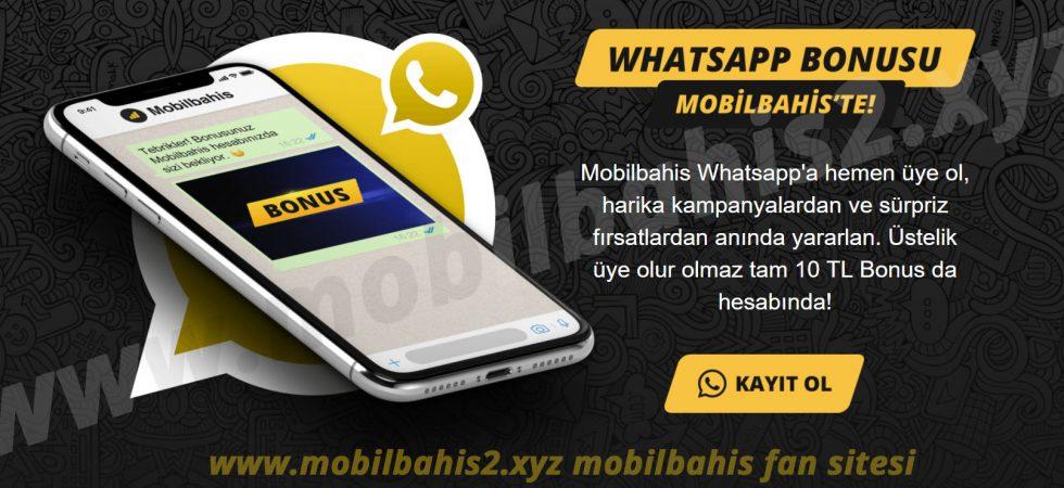 WhatsApp Bonusu Başladı