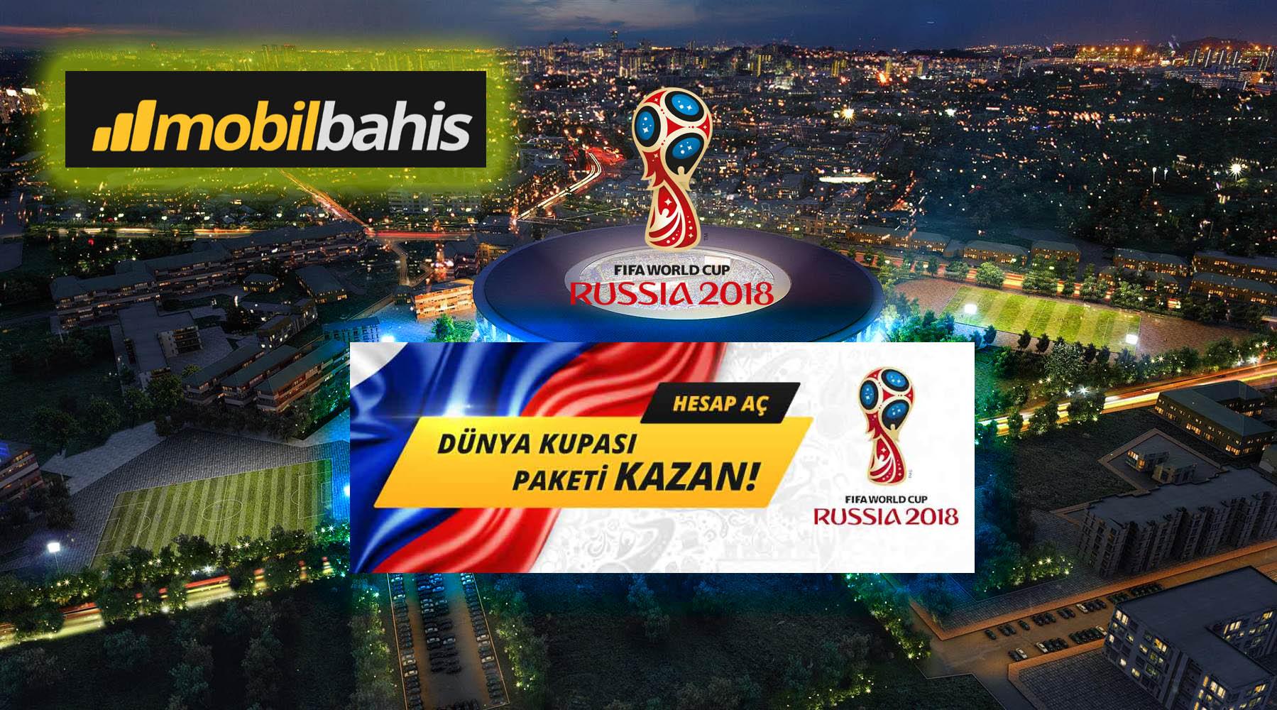 Hesap Aç Dünya Kupası Paketi Kazan