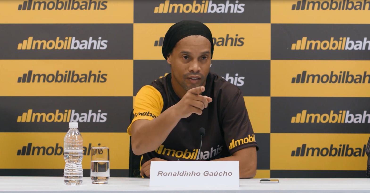 Ronaldinho Türkiye'de