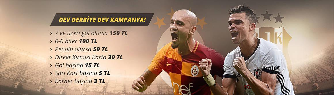 Galatasaray Beşiktaş Derbisine Dev Kampanya