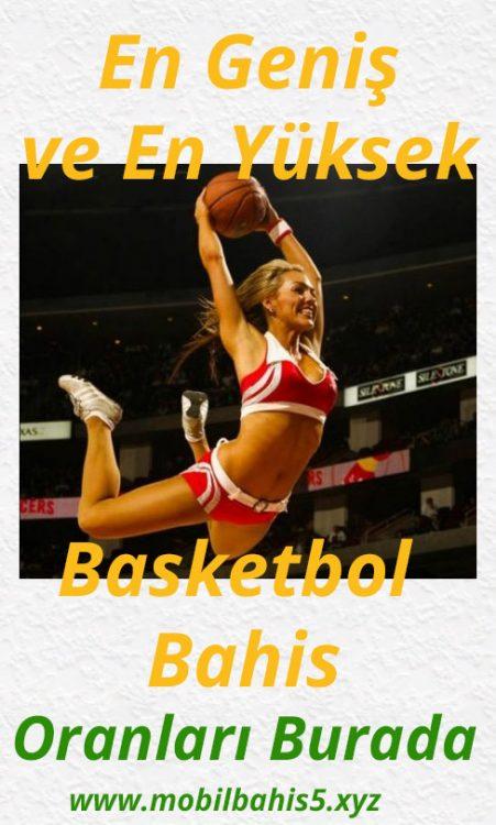 En Geniş ve En Yüksek Basketbol Bahis Oranları Burada