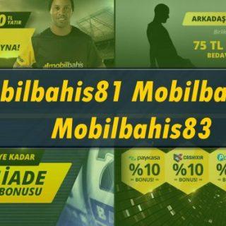 Mobilbahis81 - Mobilbahis82 ve Mobilbahis83