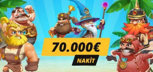 Slot Festivalinde 70 Bin € Nakit Ödül