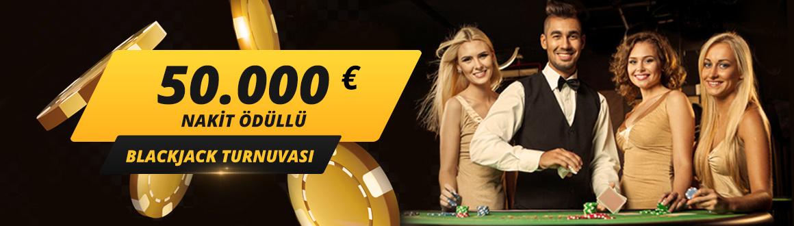 50.000 Euro Blackjack Turnuvası