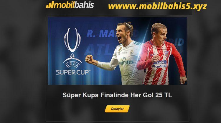 Real Madrid - Atl. Madrid Finaline Özel Her Gole 25 TL Bonus Kazan