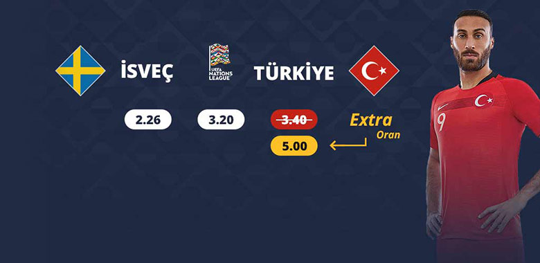 İsveç - Türkiye Maçına Deva Bahis Oranı