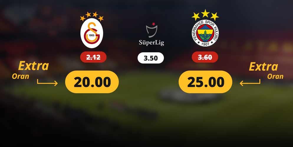 Mobilbahis Galatasaray Fenerbahçe Oranları Çılgın Atıyor 20.00 ve 25.00 ORAN